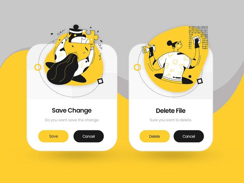 2019年Dribbble最流行的6种UI设计趋势