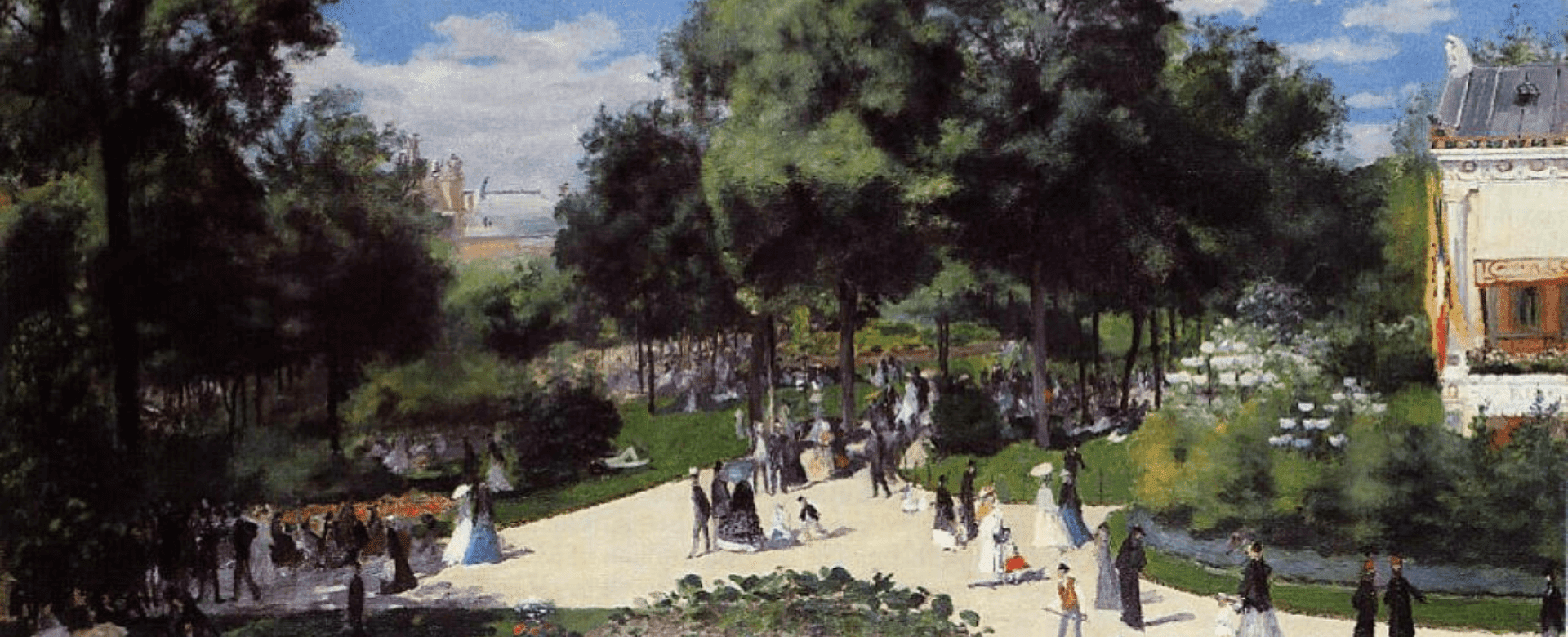 在印象派雷诺阿的油画中,一窥19世纪巴黎的优雅日常生活